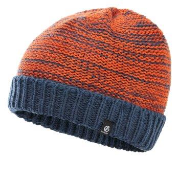 Dziecięca czapka beanie Dare2B Hilarity granatowa - pomarańczowa