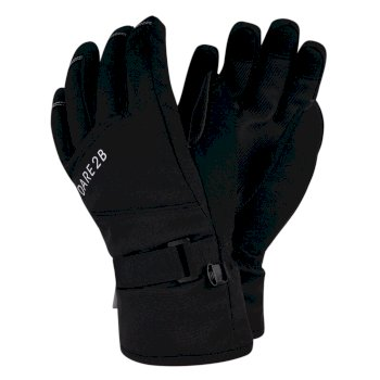 Dare 2b - Boys' Fulgent Stretch Ski Gloves Black