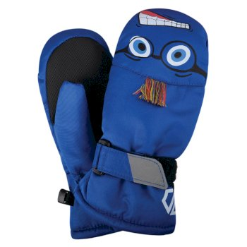Dare 2b - Boys' Brainstorm Animal Ski Mitts Oxford Blue Face