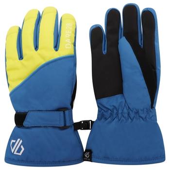 Dare 2b - Boys' Mischievous II Water Repellent Ski Gloves Dark Denim Dak Methyl Blue