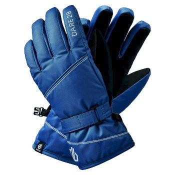 Dare 2b - Girls' Impish Waterproof Insulated Ski Gloves Dark Denim