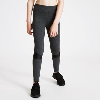Dare 2b - Girls' Trendsetter Leggings Charcoal Grey