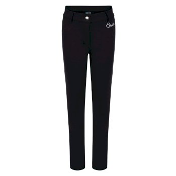 Kids Protract Luxe Softshell Ski Trousers Black