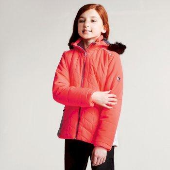 Dziecięca kurtka narciarska Dare2b Prodigal Pomarańczowa
