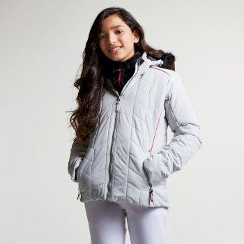 Dziecięca kurtka narciarska Dare2b Prodigal Biała