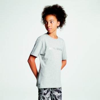 Dare 2b - Kids' Dynasti Open Back T-Shirt Ash