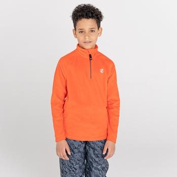 Dziecięcy polar Dare2B Freehand pomarańczowy