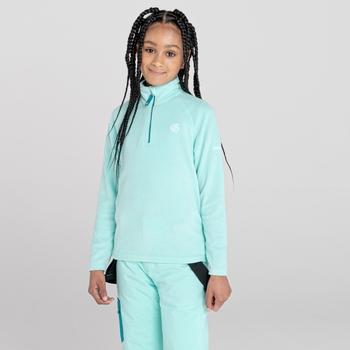 Dare 2b - Kids' Freehand Half Zip Lightweight Fleece Aruba Blue