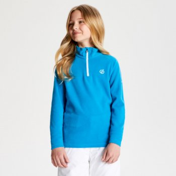 Kids' Freehand Half Zip Lightweight Fleece Atlantic Blue