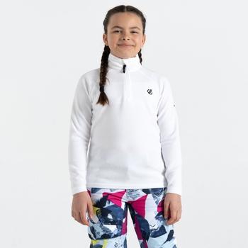 Dziecięcy polar Dare2B Freehand biały