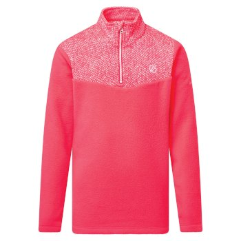 Dare 2b - Kids' Mountfuse II Half Zip Fleece Neon Pink