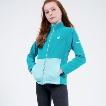 Dare 2b - Kids' Witty Full Zip Fleece  Seabreeze Blue Horizon Blue