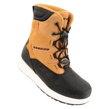 Kids Enzo Ski Boots Spring Yellow Black