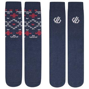 Dare 2b - Kids' Thermal Socks 2 Pack Dark Denim