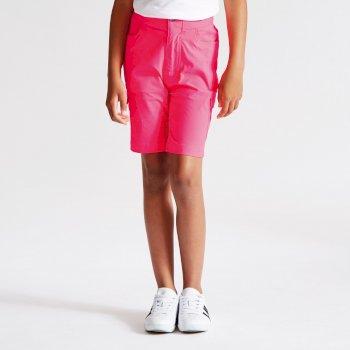 Różowe szorty dziecięce Dare2bAccentuate