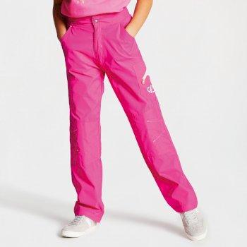 Dare 2b - Kids' Reprise Lightweight Walking Trousers Cyber Pink