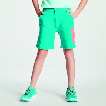 Dare 2b - Kids' Reprise Lightweight Walking Shorts Caribbean Green