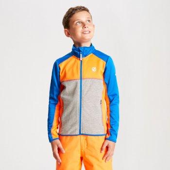 Dziecięca bluza termoaktywna Dare2B Exceed żółta