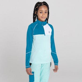 Dziecięca bluza termoaktywna Dare2B Formate niebiska-turkusowa