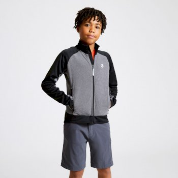 Dare 2b - Kids' Accolade Core Stretch Midlayer Ebony Black