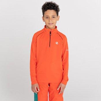 Dziecięca bluza narciarska Dare2B Consist II turkusowa