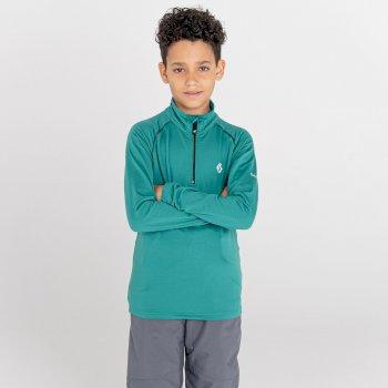 Dziecięca bluza narciarska Dare2B Consist II zielona