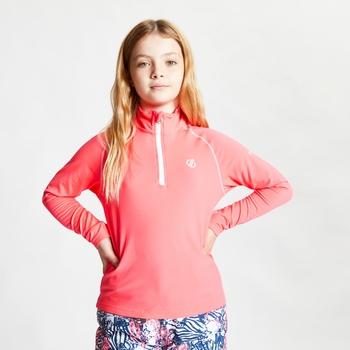 Dziecięca bluza narciarska Dare2B Consist II różowa