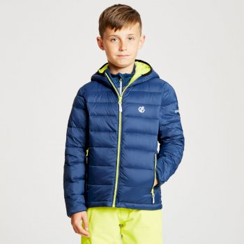 Kids' Reload Down Fill Hooded Padded Jacket Admiral Blue