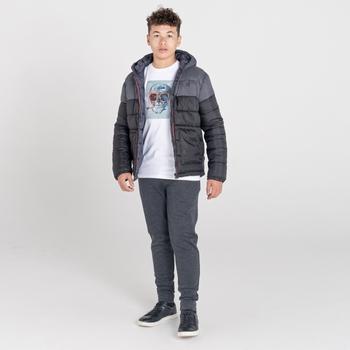 Boys' Nothing To It Waterproof Insulated Jacket Black Ebony Grey