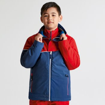 Dziecięca kurtka narciarska Dare2b Debut Niebieska