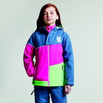 Dziecięca kurtka narciarska Dare2b Debut różowa