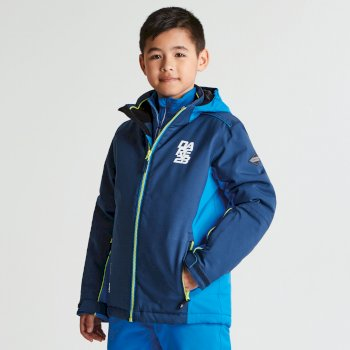002ad28e1 Kids Quell Ski Jacket Admiral Blue Athletic Blue
