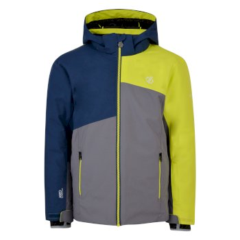 Dare 2b - Kids' Chancer Ski Jacket Aluminium Grey Admiral Blue