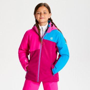 Dare 2b - Kids' Chancer Ski Jacket Fuchsia Cyber Pink