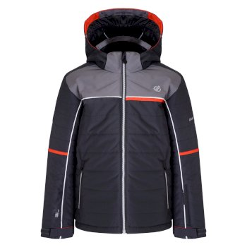Dare 2b - Kids' Initiator Ski Jacket Ebony Aluminium Grey