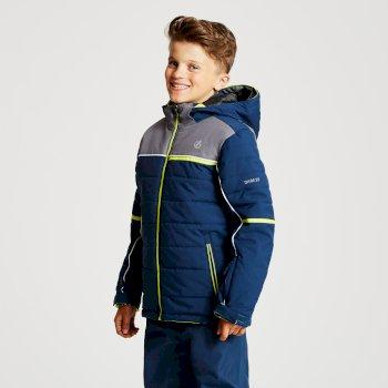 Dare 2b - Kids' Initiator Ski Jacket Admiral Blue Aluminium Grey