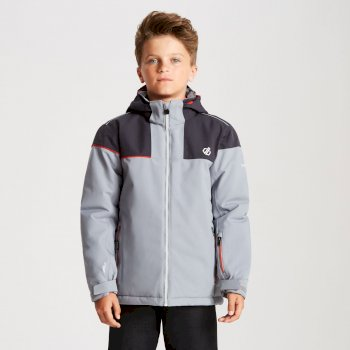 Dare 2b - Kids' Entail Ski Jacket Cloudy Grey Ebony