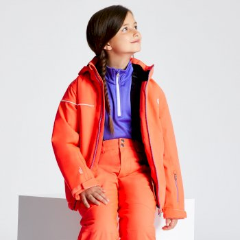 Dare 2b - Kids' Entail Ski Jacket Fiery Coral