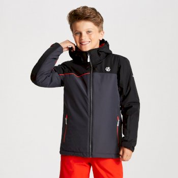 Dare 2b - Kids' Legit Ski Jacket Ebony Black