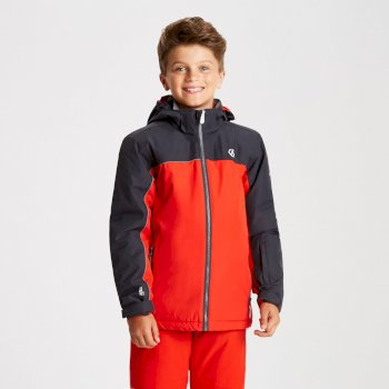 Dare 2b - Kids' Legit Ski Jacket Fiery Red Ebony