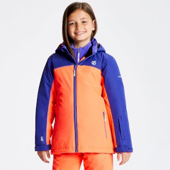 Dare 2b - Kids' Legit Ski Jacket Fiery Coral Spectrum Blue