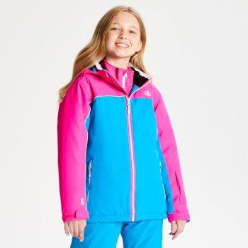Dare 2b - Kids' Legit Ski Jacket Atlantic Blue Cyber Pink