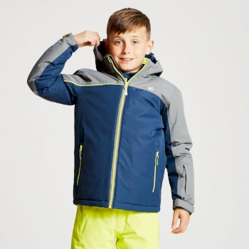 Dare 2b - Kids' Legit Ski Jacket Admiral Blue Aluminium Grey