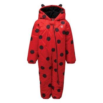 Dare 2b - Kids' Bambino Snowsuit Lollipop Red Ladybird
