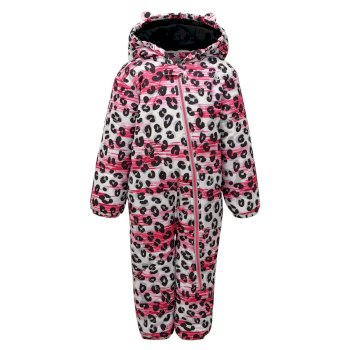 Dare 2b - Kids' Bambino Snowsuit White Leopard Print