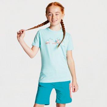 Dare 2b - Kids' Frenzy Graphic T-Shirt Aruba Blue Mountain