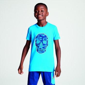 Niebieski t-shirt dziecięcy Dare2b Frenzy