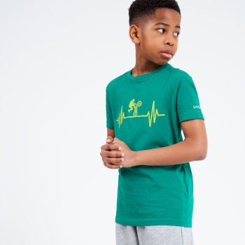 Dare 2b - Kids' Go Beyond Graphic T-Shirt Ultramarine Green