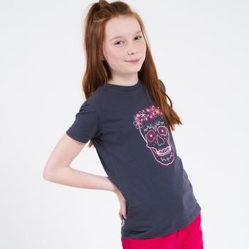 Dare 2b - Kids' Go Beyond Graphic T-Shirt Ebony Grey