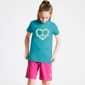 Dare 2b - Kids' Go Beyond Graphic T-Shirt Seabreeze Blue